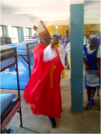 Blessing the girls hostel